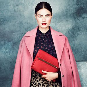 <p>M&S Collection coat, £85<br />M&S Collection skirt, £35<br />M&S Collection top, £29.50<br />Bag, £59</p>