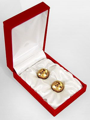 "<p>Nope, we're not offering David Beckham on a silver platter, rather two golden jiggle balls. Simply insert the bling sex toys, then enjoy the vibrations as you move around. They also promise to intensify sexual pleasure after several uses. Bonus. </p> <p>Gold balls, £20, <a href=""http://www.annsummers.com/p/gold-balls/07egecas1030025"" target=""_blank"">Ann Summers</a></p>"
