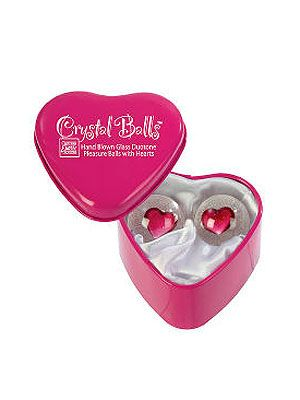 "<p>Don't be fooled by the cute appearance of these heart glass balls. The girly sex toys offer great stimulation as they knock together within you.</p> <p>Glass pleasure heart balls, £22.99, <a href=""http://www.chemistdirect.co.uk/glass-pleasure-balls-hearts_1_-101813.html#-101813"" target=""_blank"">Chemist Direct</a></p>"