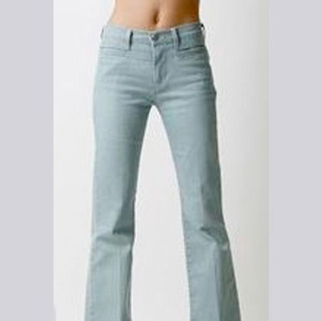 """I love the washed out denim, they are super-flattering look fabulous with stacked heels or platforms<br /><br />£75, Made In Heaven at <a target=""""_blank"""" href=""""http://www.koodos.com/product/77716"""">www.koodos.com</a><br />"""