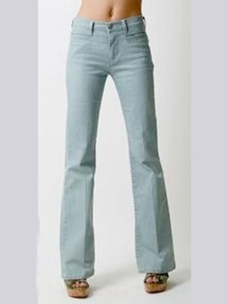 "I love the washed out denim, they are super-flattering look fabulous with stacked heels or platforms<br /><br />£75, Made In Heaven at <a target=""_blank"" href=""http://www.koodos.com/product/77716"">www.koodos.com</a><br />"