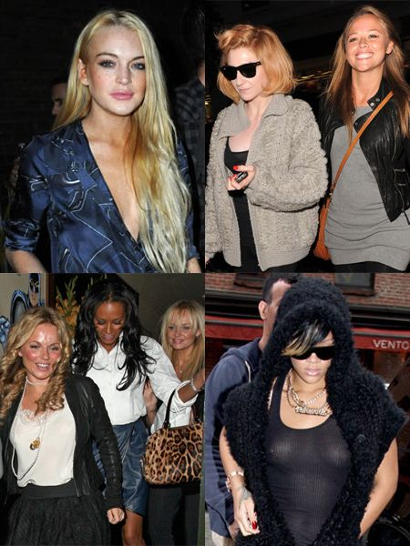 Click through and see the celebs out on the town this week...<br />
