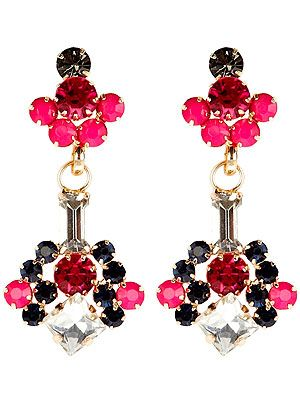 """<p>Make a statement with Coast's vibrant drop diamante earrings in mesmerising shades of pink.</p> <p>Rosie earrings, £20, <a href=""""http://www.coast-stores.com/rosie-earrings/new-in/coast/fcp-product/2829261898"""" target=""""_blank"""">Coast</a></p>"""