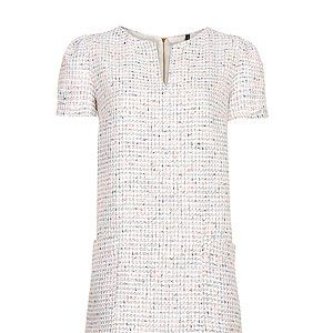 """<p>Embrace the 60s style revival in a smart A-lineboucle dress, in the mode of Jackie O. Pair with a mid-height block heel and oversized sunglasses to maximize a ladylike sex appeal.</p><p>Dress, £19.99, <a href=""""http://shop.mango.com/GB1/p0/mango/clothing/dresses/straight-cut-boucle-dress/?id=81439153_PM&n=1&s=prendas.vestidosprendas&ie=0&m=&ts=1374575661446"""" target=""""_blank"""">Mango</a></p><p><a href=""""http://www.cosmopolitan.co.uk/fashion/shopping/shop-summer-workwear-office-wardrobe-high-street-fashion"""" target=""""_blank"""">SUMMER IN THE CITY – SHOP CHIC WORK WEAR LOOKS</a></p>"""