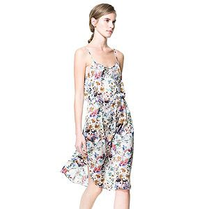 <p>Get set for camisole dresses this AW13 - they're gonna be HUGE. Slip into a slip dress early and get ahead of next season with this pretty slinky number. We love.</p>
