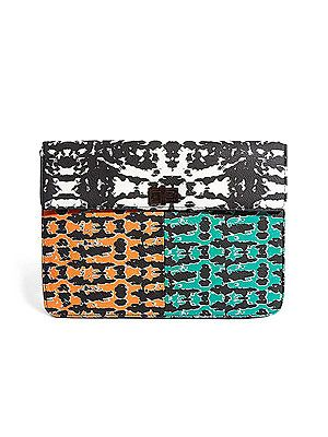 "<p>The colour pop print on this clutch bag is a winner and will perk up any outfit in a jiffy.</p> <p>Digital print clutch, £28, <a title=""ASOS"" href=""http://www.asos.com/ASOS/ASOS-Clutch-Bag-In-Digital-Print/Prod/pgeproduct.aspx?iid=2980898&cid=6992%20"" target=""_blank"">ASOS</a></p>"