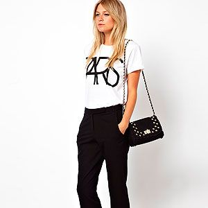 """<p>Get a head start on next season with the new trouser shape: The kick flare. These are the perfect ankle-grazing length to show-off sunkissed skin.</p><p>Crop Kick Flare Trousers, £20, <a title=""""ASOS"""" href=""""http://www.asos.com/ASOS/ASOS-Crop-Kick-Flare-Trousers/Prod/pgeproduct.aspx?iid=3015661&cid=16350&sh=0&pge=0&pgesize=36&sort=-1&clr=Black%20"""" target=""""_blank"""">ASOS</a></p>"""