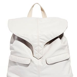 """<p>Die-hard handbag fans look away now. Luxe leather backpacks are having a moment - but the timing couldn't be better&#x3B; they're ideal for fashion-forward festival-goers. Can you say 'hands free'?</p><p>Leather backpack, £55, <a title=""""ASOS"""" href=""""http://www.asos.com/ASOS/ASOS-Leather-Backpack-With-Tab-Detail/Prod/pgeproduct.aspx?iid=2747996"""" target=""""_blank"""">ASOS</a></p>"""