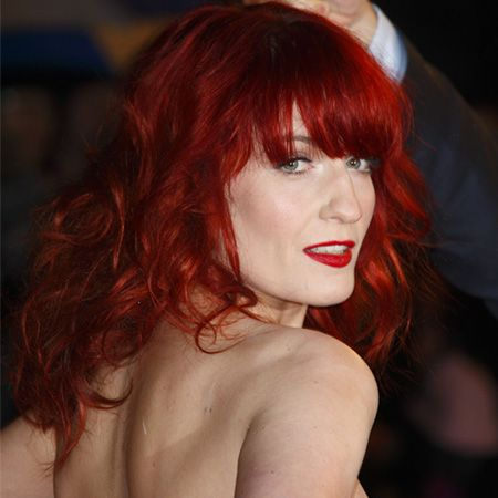 """<a href=""""http://www.cosmopolitan.co.uk/tags/rihanna"""">Rihanna</a> and <a href=""""http://www.cosmopolitan.co.uk/tags/florence-welch"""">Florence Welch</a> show that it's not just natural-look red heads who are having a moment right now. If you're brave enough to dare, ditch any semblance of natural born colour and go for the brightest red you dare<br /><br />Try it: If you like to be noticed!"""
