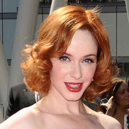 Christina Hendricks is our latest carrot top pinup. Red heads are having a moment right now and no one more so than the voluptuous Mad Men star. If you're not naturally blessed with flame red hair, now is definitely the time to experiment with this colour<br /><br />Try it: If your skintone is warm. If you have too cool a skintone or too much pink this colour is best avoided<br /><br />