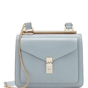"""<p>Pastels are the way to go, come summer or winter. For AW13, keep the vintage vibe with a messenger bag with metallic fastener in powder shades.</p><p>Messenger bag, £29.99, <a href=""""http://www.zara.com/uk/en/woman/handbags/messenger-bag-with-metallic-fastener-c269200p1390551.html"""" target=""""_blank"""">Zara</a></p>"""