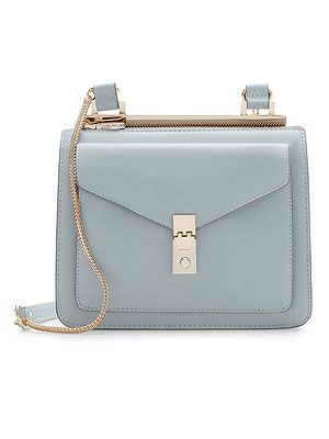 "<p>Pastels are the way to go, come summer or winter. For AW13, keep the vintage vibe with a messenger bag with metallic fastener in powder shades.</p> <p>Messenger bag, £29.99, <a href=""http://www.zara.com/uk/en/woman/handbags/messenger-bag-with-metallic-fastener-c269200p1390551.html"" target=""_blank"">Zara</a></p>"