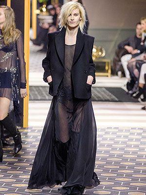 <p>Jacket, £69.99<br />Sheer dress, £49.99</p>