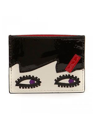 "<p>Doll Face cardholder, £45, <a href=""http://www.luluguinness.com/doll-face-card-holder"" target=""_blank"">Lulu Guinness</a></p>"
