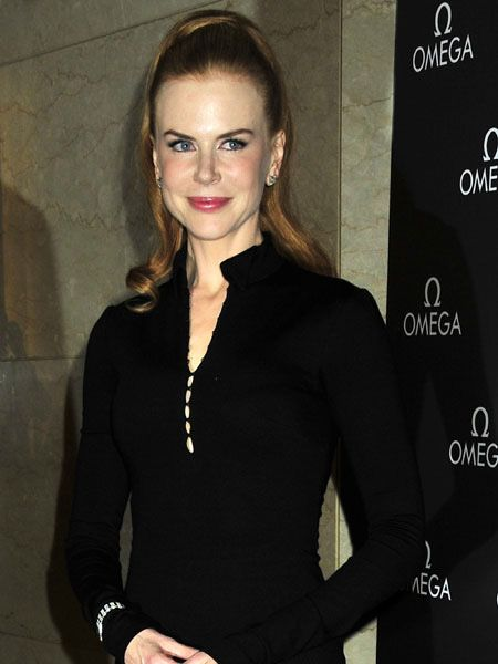 Nicole Kidman looked almost unrecognisable as she attended the Omega Flagship boutique opening in New York. Though the actress has firmly denied that she'd had any botox or surgery, her face was wrinkle-free and completely flawless. We'll put it down to enviable genes...