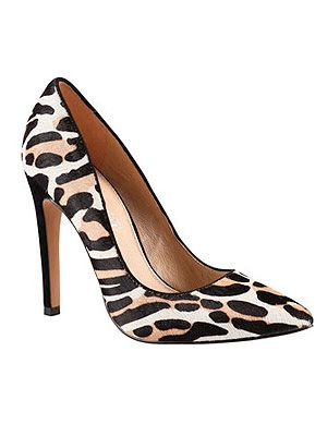 """<p>Leopard is the print of the AW13 season, so style up your outfit now thanks to these white and black faux-pony heels from Aldo.</p> <p>Frited heels, £80, <a href=""""http://www.aldoshoes.com/uk/women/shoes/high-heels/93964617-frited/79"""" target=""""_blank"""">Aldo</a></p>"""