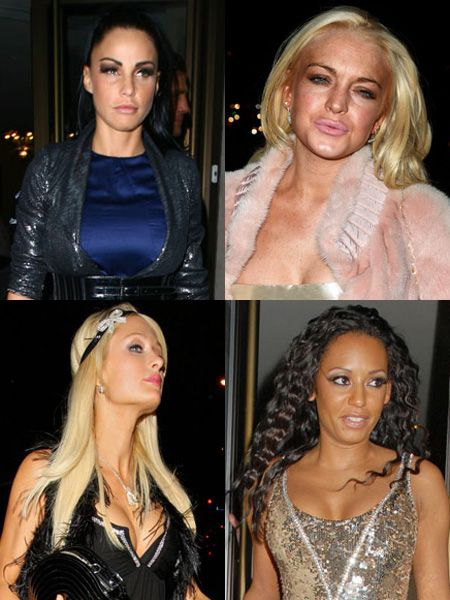 Click on to see the celebs out and about on the town this week...<br />