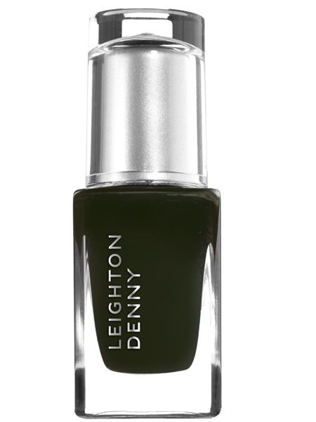 "<p>For the quickest and easiest way to channel grungy glamour coat your nails with a dark glossy colour. This mossy green-black from the new Leighton Denny collection nails it</p>  <p>Leighton Denny nail colour in Undercurrent, £10, <a target=""_blank"" href=""http://www.leightondenny.com/"">www.leightondenny.com</a> </p>"