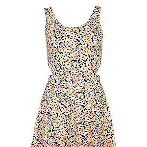 """<p>Cute and flirty, the floral dress is an absolute wardrobe staple, all year round. The flower power trend was made for festivals, so wear your bright print dress with pride and accessorise to the max with a floral crown. </p><p>Floral cut out skater dress, £14.99, <a href=""""http://www.newlook.com/shop/womens/dresses/pink-and-yellow-floral-cut-out-side-skater-dress_288102099"""" target=""""_blank"""">New Look</a> </p>"""