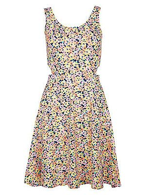 """<p>Cute and flirty, the floral dress is an absolute wardrobe staple, all year round. The flower power trend was made for festivals, so wear your bright print dress with pride and accessorise to the max with a floral crown. </p> <p>Floral cut out skater dress, £14.99, <a href=""""http://www.newlook.com/shop/womens/dresses/pink-and-yellow-floral-cut-out-side-skater-dress_288102099"""" target=""""_blank"""">New Look</a> </p>"""