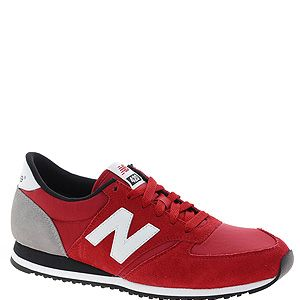 """<p>Make like the fashion editors and snap up a pair of new season New Balance in blood red. Wear with slinky leather skinnies and a mannish overcoat for full fashion points.</p><p>New Balance trainers, £55, <a title=""""http://www.asos.com/New-Balance/New-Balance-420-Red-Suede-Trainers/Prod/pgeproduct.aspx?iid=2988258&cid=16350&sh=0&pge=0&pgesize=36&sort=-1&clr=Red"""" href=""""http://www.asos.com/New-Balance/New-Balance-420-Red-Suede-Trainers/Prod/pgeproduct.aspx?iid=2988258&cid=16350&sh=0&pge=0&pgesize=36&sort=-1&clr=Red"""" target=""""_blank"""">ASOS</a></p>"""
