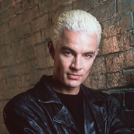 As Buffy's sometime friend and foe, James Marsters' character Spike was only meant to appear in a few episodes of the TV show but he was so popular he was written into the whole series and starred in the Buffy spin-off, Angel.