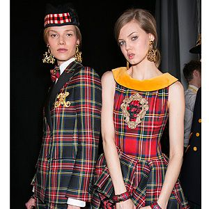 <p>Get set to have a Highland Fling with fashion next season as punky plaid is having a moment. As spotted on all the AW13 catwalks from Moschino (pictured left) through to Jean Paul Gaultier and Versace, it's time to join the tartan army.</p>