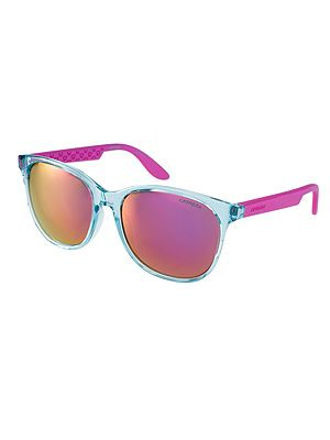 "<p>Come rain or shine, mirrored shades are the only eyewear to be seen in this season for 'I'm with the band' cool.</p> <p>Carrera mirrored sunglasses, £90, <a title=""http://www.asos.com/Carrera/Carrera-5001-Craze-Oversized-Sunglasses/Prod/pgeproduct.aspx?iid=3023947&cid=7662&sh=0&pge=0&pgesize=204&sort=-1&clr=Aqua+and+pink"" href=""http://www.asos.com/Carrera/Carrera-5001-Craze-Oversized-Sunglasses/Prod/pgeproduct.aspx?iid=3023947&cid=7662&sh=0&pge=0&pgesize=204&sort=-1&clr=Aqua+and+pink"" target=""_blank"">ASOS</a></p>"