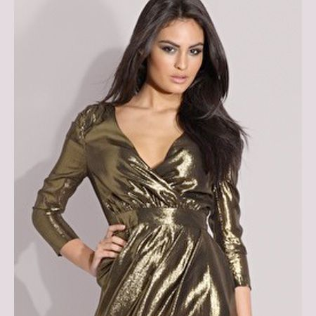 "Sooo 80's but so blooming cool! Cause some chaos on the dancefloor in this little number<br /><br />£65, <a target=""_blank"" href=""http://www.asos.com/Asos/Asos-Premium-Gold-Silk-Shoulder-Detail-Dress/Prod/pgeproduct.aspx?iid=784861&cid=8857&sh=0&pge=0&pgesize=20&sort=-1&clr=Gold#at"">www.asos.com</a><br />"