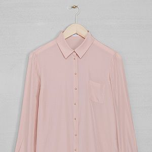 """<p>Pink long sleeve blouse,£29, <a href=""""http://www.stories.com/New_in/All_new_in/Long_sleeve_blouse/591727-594863.1"""" target=""""_blank"""">& Other Stories</a></p>"""