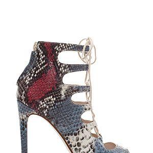 "<p>Snakeskin heels £79.99, <a href=""http://www.zara.com/uk/en/woman/shoes/leather-snake-ankle-boot-c269191p1461562.html"" target=""_blank"">Zara</a></p><p> </p>"