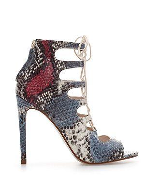 "<p>Snakeskin heels £79.99, <a href=""http://www.zara.com/uk/en/woman/shoes/leather-snake-ankle-boot-c269191p1461562.html"" target=""_blank"">Zara</a></p> <p> </p>"