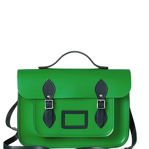 "<p>Make your classmates, er, we mean colleagues green with envy with a preppy colour pop <a href=""http://www.cosmopolitan.co.uk/fashion/shopping/designer-handbags-winter-trends-2013#fbIndex1"" target=""_blank"">bag</a> to cart around all your essentials.</p>