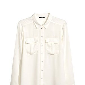 <p>No wardrobe should be without a crisp white shirt, perfect for making yourself look presentable, no matter the occasion. 10/10 for this fashion find!</p>