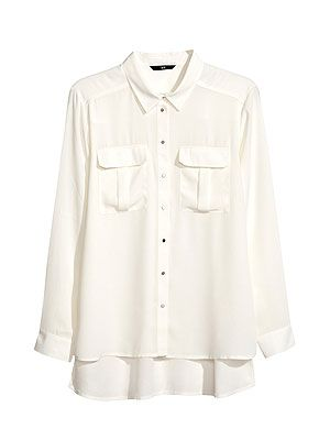 "<p>No wardrobe should be without a crisp white shirt, perfect for making yourself look presentable, no matter the occasion. 10/10 for this fashion find!</p> <p>Chiffon shirt, £14.99,  <a href=""http://www.hm.com/gb/product/12641?article=12641-E"" target=""_blank"">HM.com</a></p> <p><a href=""http://www.cosmopolitan.co.uk/fashion/shopping/shop-tartan-fashion-trend-aw13#fbIndex1"" target=""_blank"">SHOP 12 TARTAN FASHION FINDS</a></p> <p><a href=""http://www.cosmopolitan.co.uk/fashion/shopping/new-in-store-27-august#fbIndex1"" target=""_blank"">SHOP THIS WEEK'S BEST NEW BUYS</a></p> <p><a href=""http://www.cosmopolitan.co.uk/fashion/news/"" target=""_blank"">SEE THE LATEST FASHION NEWS</a></p>"