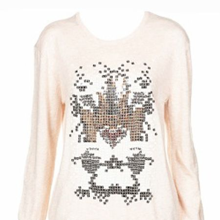 """<p>November is here, queue a stampede of sweaters, coats and woolies. But being warm doesn't mean you have to compromise on style which is why <em>Cosmo</em>'s fashion assistant Clare Smith has chosen this week's hottest pieces on the high street.</p><p><br />Left: Not keen on the full on sequins trend? Try this blush jumper, it'll look fab thrown over some wet look leggings and bang on trend!<br /><br />£48, <a target=""""_blank"""" href=""""http://www.topshop.com/webapp/wcs/stores/servlet/ProductDisplay?beginIndex=0&viewAllFlag=true&catalogId=19551&storeId=12556&categoryId=182484&parent_category_rn=42317&productId=1455954&langId=-1"""">www.topshop.com</a><br /></p>"""