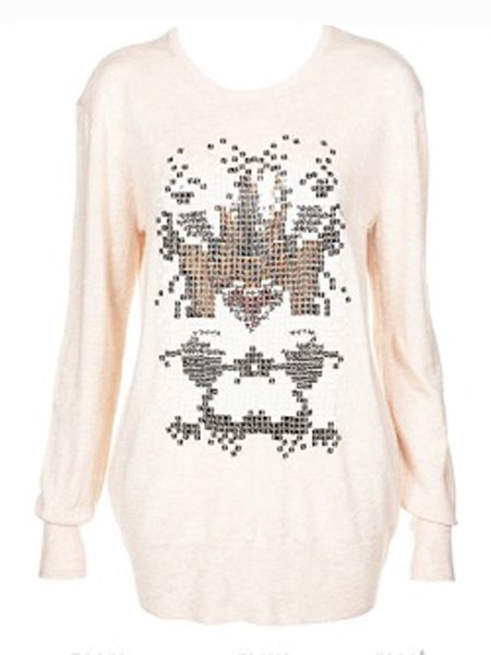 "<p>November is here, queue a stampede of sweaters, coats and woolies. But being warm doesn't mean you have to compromise on style which is why <em>Cosmo</em>'s fashion assistant Clare Smith has chosen this week's hottest pieces on the high street.</p><p><br />Left: Not keen on the full on sequins trend? Try this blush jumper, it'll look fab thrown over some wet look leggings and bang on trend!<br /><br />£48, <a target=""_blank"" href=""http://www.topshop.com/webapp/wcs/stores/servlet/ProductDisplay?beginIndex=0&viewAllFlag=true&catalogId=19551&storeId=12556&categoryId=182484&parent_category_rn=42317&productId=1455954&langId=-1"">www.topshop.com</a><br /></p>"