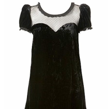 """It's black, lacy and velvet and we want it for our wardrobes!<br /><br />£45, <a target=""""_blank"""" href=""""http://www.missselfridge.com/webapp/wcs/stores/servlet/ProductDisplay?beginIndex=0&viewAllFlag=&catalogId=20555&storeId=12554&categoryId=129984&parent_category_rn=70074&productId=1466788&langId=-1"""">www.missselfridge.com</a><br />"""