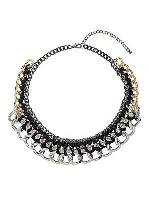 "<p>Tap into this winter's 90s grunge fashion trend with one single accessory.</p> <p>Glam grunge collar, £16.50, <a href=""http://www.missselfridge.com/en/msuk/product/new-in-299046/accessories-299059/glam-grunge-collar-2184379?bi=1"" target=""_blank"">Missselfridge.com</a></p>"