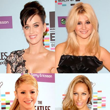 Click through to see music royalty on the red carpet from 2009's MTV Europe Video Awards...<br />