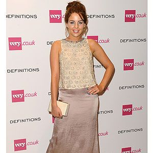 <p>Lydia Bright looked lovely in pretty pastel shades at Very.co.uk's fashion party last night, complete with 60s style hair and makeup.</p>