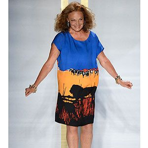 """<p>Diane von Furstenberg is a fashion LEGEND, having been designing for over four decades and creating the now-iconic wrap dress that has flattered many a female figure with her signature silhouette.</p><p>And that infamous shape was a mainstay for von Furstenberg's spring 2014 fashion collection, updated with bold prints and boho styling.</p><p>Her collection was like a 70s-themed safari, all animal print shirt-dresses and leg-lengthening flares, set against a funky soundtrack of (what sounded like my very own iPod) Beyonce's Crazy in Love, Daft Punk's Get Lucky and Robin Thicke's Blurred Lines.</p><p>As if that wasn't enough, throw in a couple of cameos from the most super of models - Naomi Campbell and Karen Elson - plus a celeb-heavy Frow and the result is an extremely wearable summer collection for the discerning gal about town.</p><p>Click through to see our picks from Diane von Furstenberg's summer 2014 fashion show , and tweet us your verdict <a href=""""http://www.cosmopolitan.co.uk/fashion/news/victoria%20beckham%20debuts%20fashion%20collection%20in%20new%20york%20for%20nyfw%20-%20victoria%20beckham%20designer%20clothes%20images%20-%20cosmopolitan.co.uk"""" target=""""_blank"""">@CosmopolitanUK</a>!</p><p><a href=""""http://www.cosmopolitan.co.uk/fashion/news/victoria-beckham-nyfw-show-2013"""" target=""""_blank"""">SEE VICTORIA BECKHAM'S SS14 COLLECTION</a></p><p><a href=""""http://www.cosmopolitan.co.uk/fashion/Fashion-week/fashion-week-daily-live-streams"""" target=""""_blank"""">WATCH: NEW YORK FASHION WEEK LIVE</a></p><p><a href=""""http://www.cosmopolitan.co.uk/fashion/shopping/the-fashion-fix-shop-bargain-buys"""" target=""""_blank"""">SHOP: FASHION BUYS FOR £10 OR LESS</a></p>"""