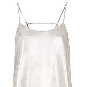 <p>This 90s style cami is the perfect partner for stylish seperates, especially if you're planning to party after the last show of the day.</p>