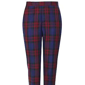 <p>Now these are what I call trophy trousers! In the must-have print for winter 2013 - tartan - these checked beauts will bring your look bang up to date (and are ideal for sitting Frow).</p>