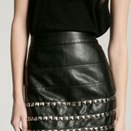 """<p>AAaahhhh, how amazing is this skirt! I need this now- and its in the sale! wahey! </p><p> </p><p>£29.99, <a target=""""_blank"""" href=""""http://www.urbanoutfitters.co.uk/Silence-+-Noise-Pleather-Studded-Mini/invt/5120412471846&bklist="""">www.urbanoutfitters.co.uk</a><br /></p>"""