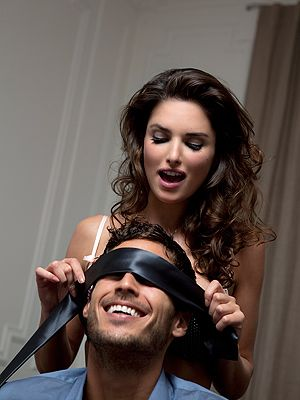 "<p>Using a blindfold is a great way to make treat your man to new sensations. He won't know where you're going to kiss, stroke or lick and he'll love it. Don't be afraid to experiment using your hair or pearls when rubbing against his penis.</p> <p><a href=""http://www.cosmopolitan.co.uk/love-sex/tips/sex-tips-better-doggy-style#fbIndex1"" target=""_blank"">HOW TO MAKE DOGGY STYLE EVEN BETTER</a></p> <p><a href=""http://www.cosmopolitan.co.uk/love-sex/tips/oral-sex-tips-him-her#fbIndex1"" target=""_blank"">ORAL SEX TIPS FOR YOU AND HIM</a></p> <p><a href=""http://www.cosmopolitan.co.uk/love-sex/tips/"" target=""_blank"">READ MORE SEX TIPS HERE</a></p>"