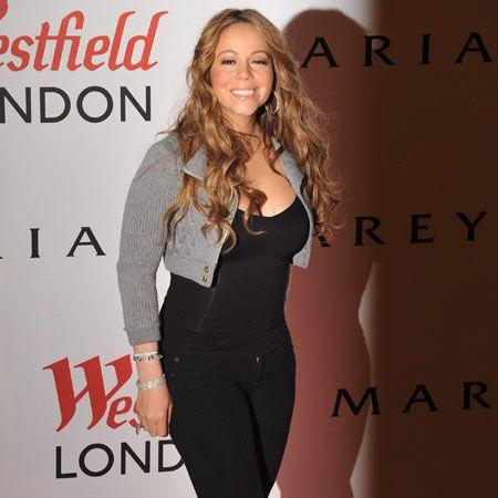 Watch out London, Mariah Carey is in town. First stop was the Fountain Studios to record her performance for <em>The X Factor</em> this weekend, followed by a lavish party thrown by the diva at exclusive club Jalouse after the star switched on the Christmas lights at Westfield. Which she did with a wand. Only Mariah...