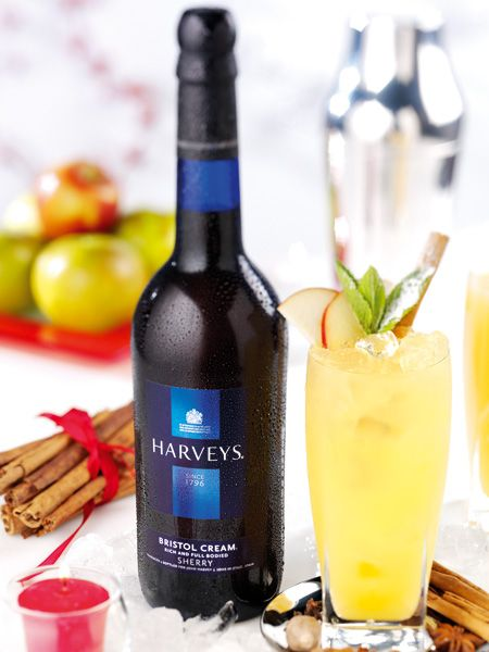Shun the stigma attached to sherry – it's not just for your granny. It's also a fab fruity way to add some retro chic to your drink, yes really! Harveys Sherry has concocted a cocktail for Christmas – the Frosted Apple and Ginger. Fill a glass with ice, pour 50ml Harveys Bristol Cream and 50ml of pressed apple juice and top up with ginger ale.  It's spicy, sweet and surprisingly tasty.