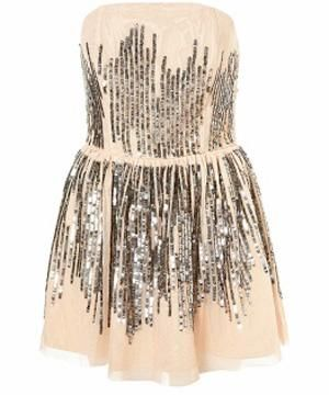 "<p>Fabulous dress for going out, combines our two favourite trends for this party season, nude and sequins, and it will stay in your wardrobe all year round! </p><p> </p><p>£65,<a target=""_blank"" href=""http://www.topshop.com/webapp/wcs/stores/servlet/ProductDisplay?beginIndex=0&viewAllFlag=&catalogId=19551&storeId=12556&categoryId=59925&parent_category_rn=42317&productId=1502572&langId=-1""> Topshop</a><br /><br /></p>"
