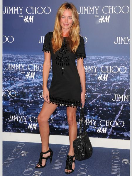 <p> </p><p>Rocking a Jimmy Choo for H&M event in a Topshop dress – how fitting! Just goes to show the high street can look A-list  <br /></p>